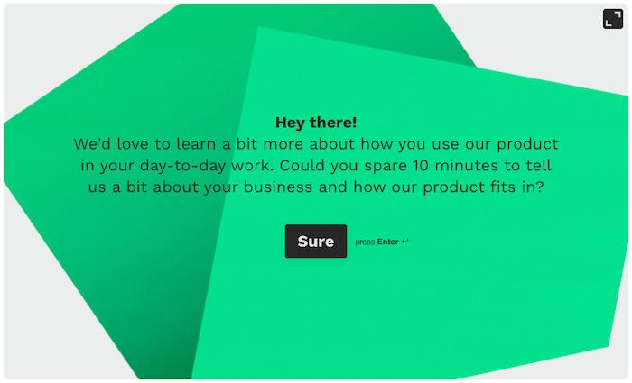 creador de encuestas online - typeform