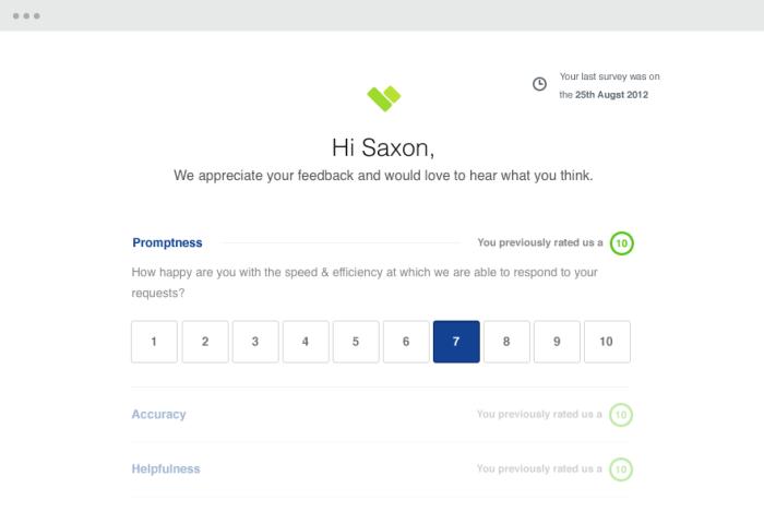 creador de encuestas en línea - cliente de Hearbeat