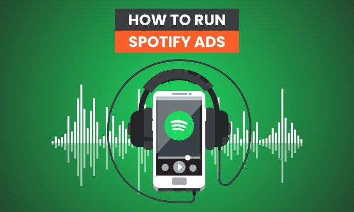 Cómo ejecutar anuncios de Spotify