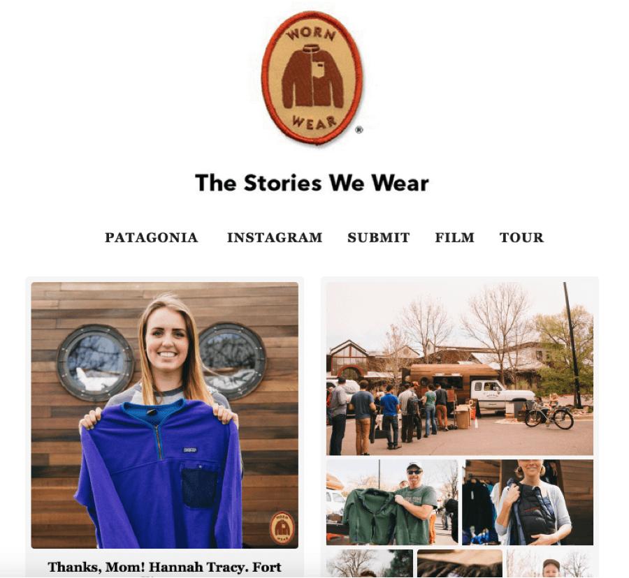 las historias que llevamos la historia de la marca Patagonia