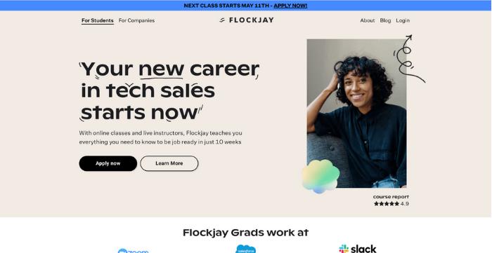 Bootcamps de codificación para especialistas en marketing digital - Flockjay