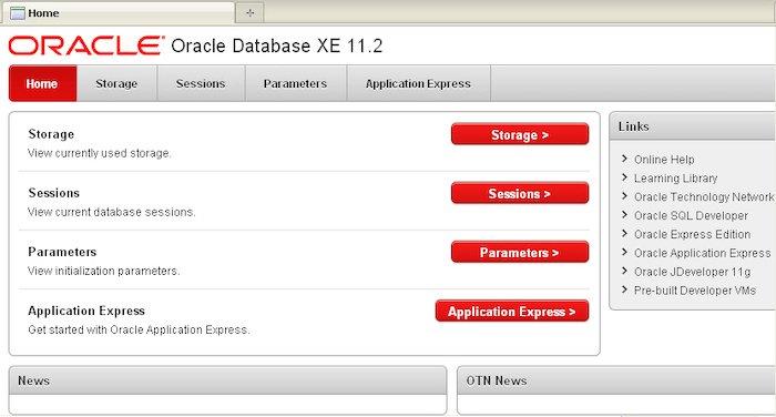 Datos de la base de datos de Oracle como servicio