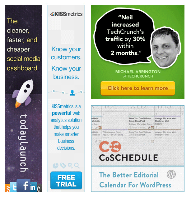 ejemplos de publicidad pagada en Internet