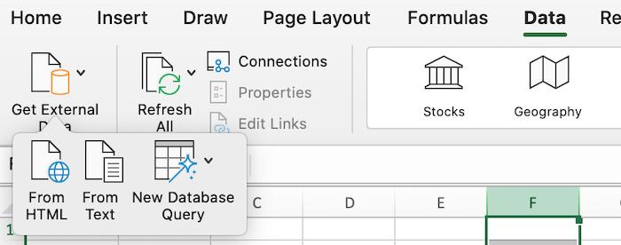 Consejos de Excel para usar en campañas publicitarias pagas: importación de datos desde CSV