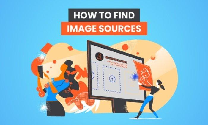 cómo encontrar fuentes de imágenes