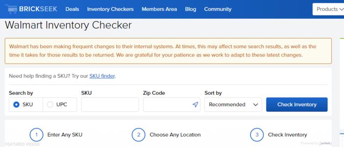 BrickSeek para consumidores: uso de brickseek para investigaciones específicas