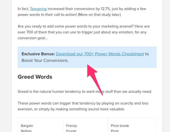 700 palabras poderosas que impulsarán sus conversiones de inbound marketing