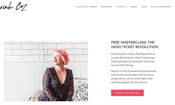 crea una clase magistral gratuita para tu estrategia de inbound marketing