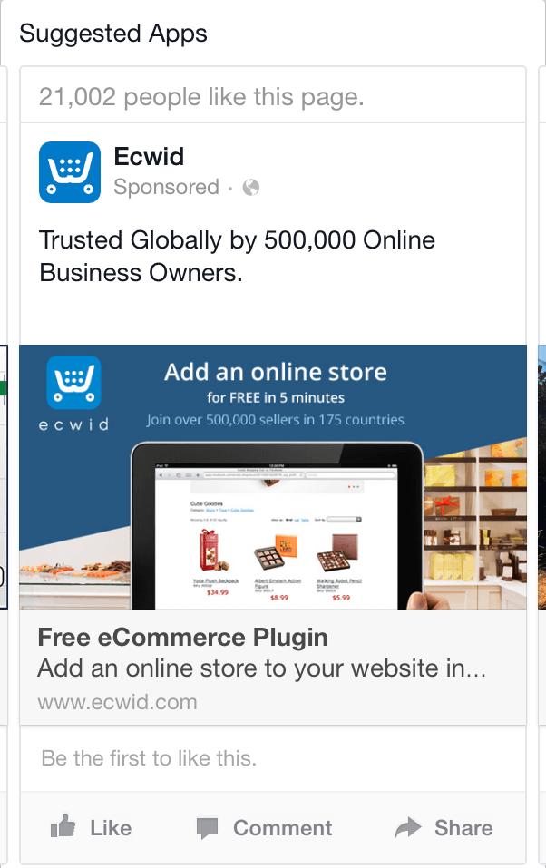 ejemplo de prueba social de estrategias de copia de anuncios de Facebook