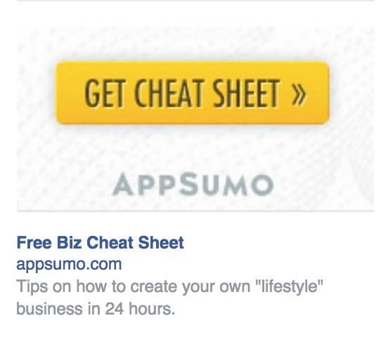Las estrategias de copia de anuncios de Facebook ofrecen valor