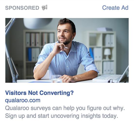 estrategias de copia de anuncios de facebook hacer preguntas ejemplo