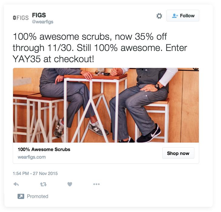 Las estrategias publicitarias de Twitter evitan el ejemplo de los hashtags.