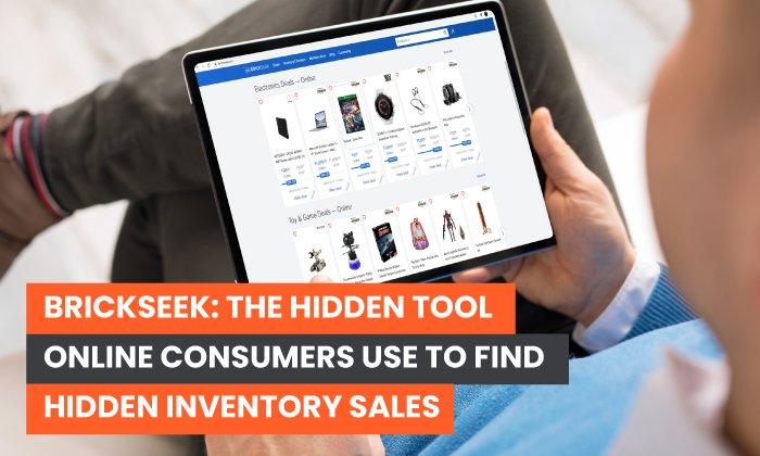 Brickseek: la herramienta oculta que los consumidores en línea utilizan para encontrar ventas de inventario ocultas
